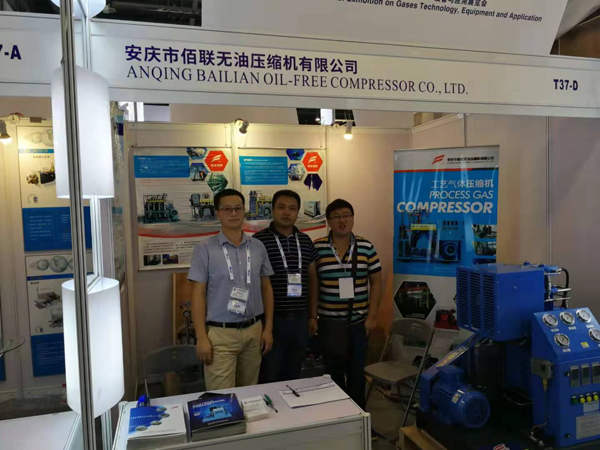 IG CHINA 2019 industri peralatan gas adil, Bailian booth (8)