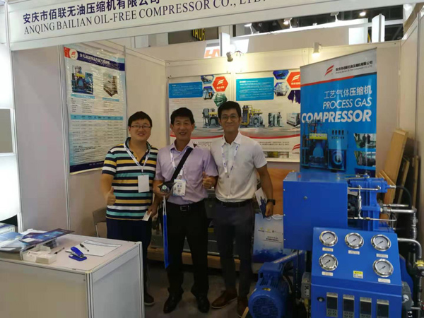 IG CHINA 2019 Bailian COMPRESSOR BOOTH 2